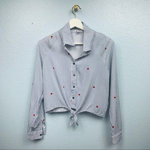 Love, Fire Casual Blouses(XS/TP)